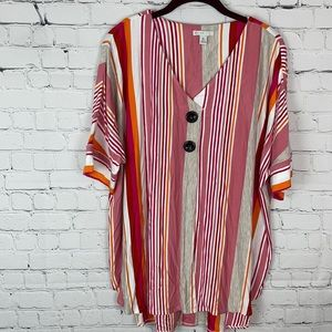 Thick Soft Striped Tee